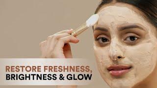 WOW Skin Science Vitamin C Glow Clay Face Mask - Skin Reviving, Rejuvenating, Repairing Face Mask
