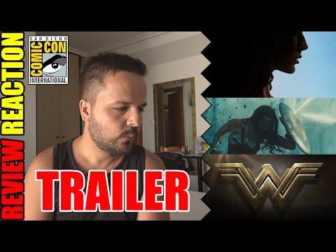 WONDER WOMAN - Official Comic-Con Trailer REACTION - REVIEW - CRÍTICA - John Doe