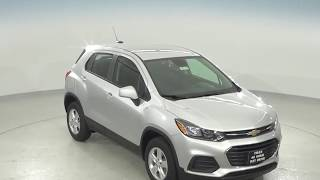 182183 - New, 2018, Chevrolet Trax, LS, AWD, Silver, SUV, Test Drive, Review, For Sale -