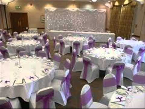 Decorate Your Wedding Hall With Best Suited Chair Covers Tablecloths