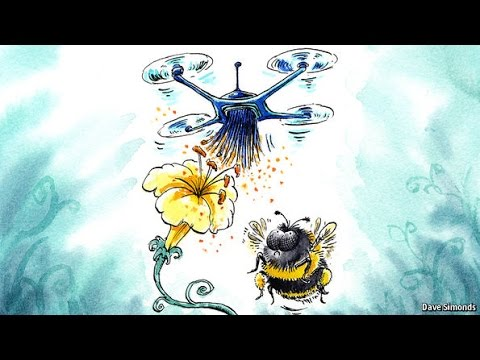 Could Drones Replace Bees?