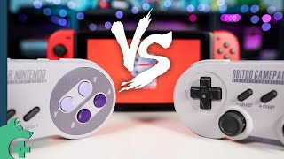 Official Nintendo Switch Online SNES Controller VS 8BITDO