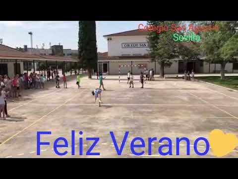 Flashmob Feliz Verano 2018 Colegio San Agustín Sevilla