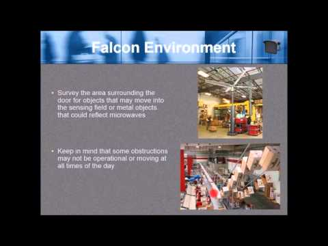 Falcon Industrial Motion Sensor