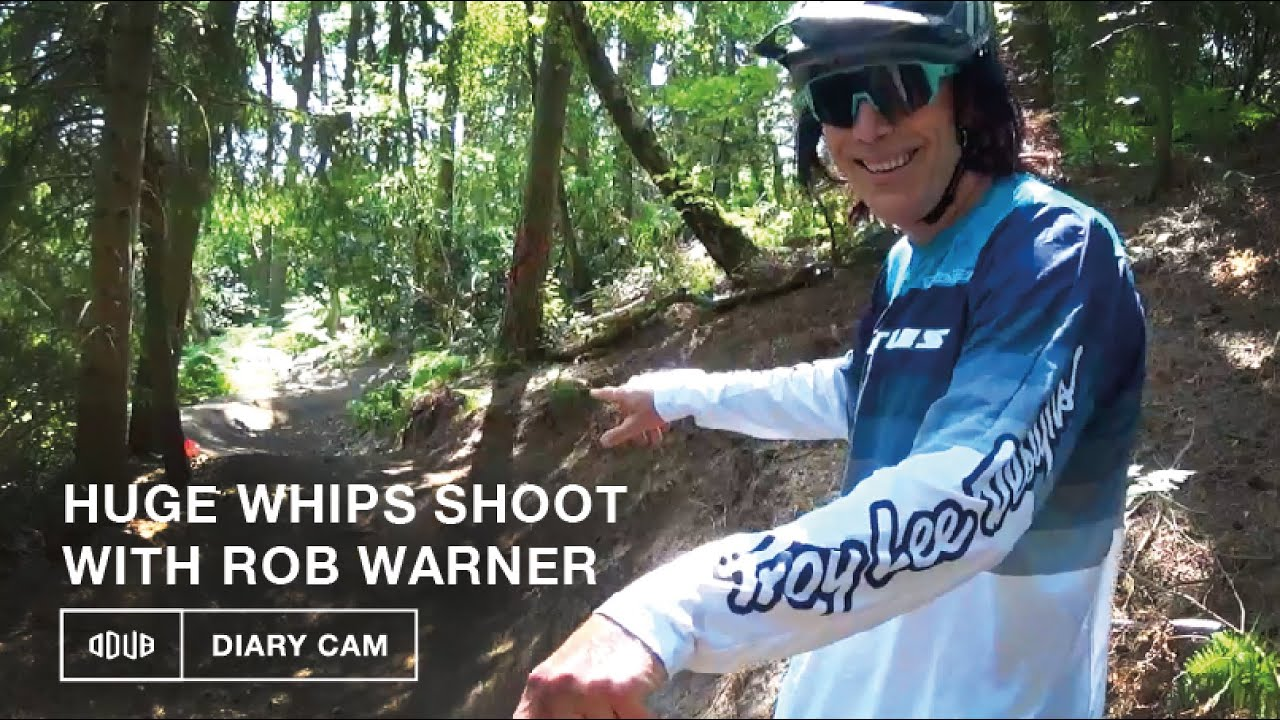 HUGE WHIPS WITH ROB WARNER | Odub's Diary cam documents an MBUK photoshoot. *8K footage*