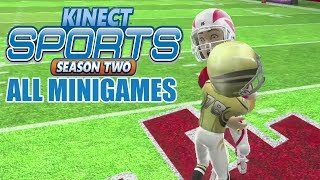 Kinect Sports Season 2 All Minigames