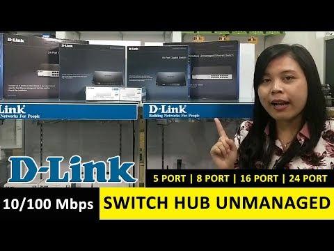 D-LINK Switch Hub DES Series (10/100Mbps)