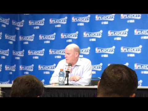 Steve Clifford on Game 7