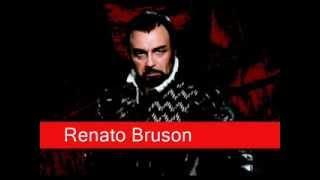 Renato Bruson: Verdi - Don Carlo,