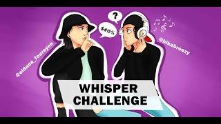 Whisper Challenge.Читай по Губам c  Эльданой Foureyes || BikaBreezy