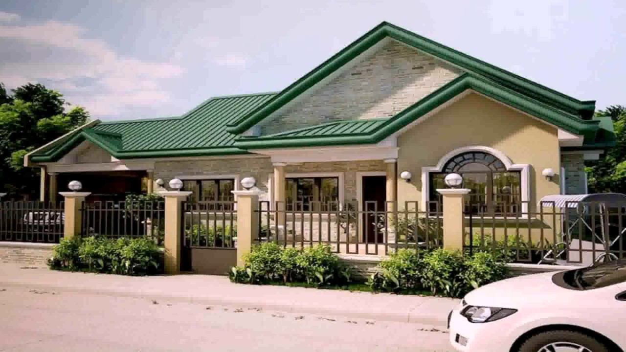 4 Bedroom Bungalow House Plans In Philippines Youtube