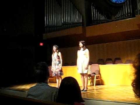 """Some Things Are Meant To Be"" performed LIVE- Lindsay Pearce and Emily Kay Shrader"