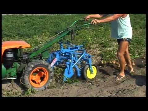 spedo scavapatate per motocoltivatore youtube