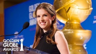 Anna Kendrick Announces Golden Globe Nominations 2017