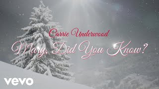 Carrie Underwood Mary, Did You Know?