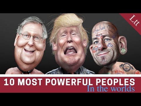 Top 10 Most Powerful People of The World  -[List10Tube]