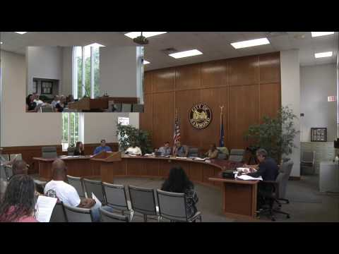City of Hammond, LA - City Council Meeting - June 27, 2017