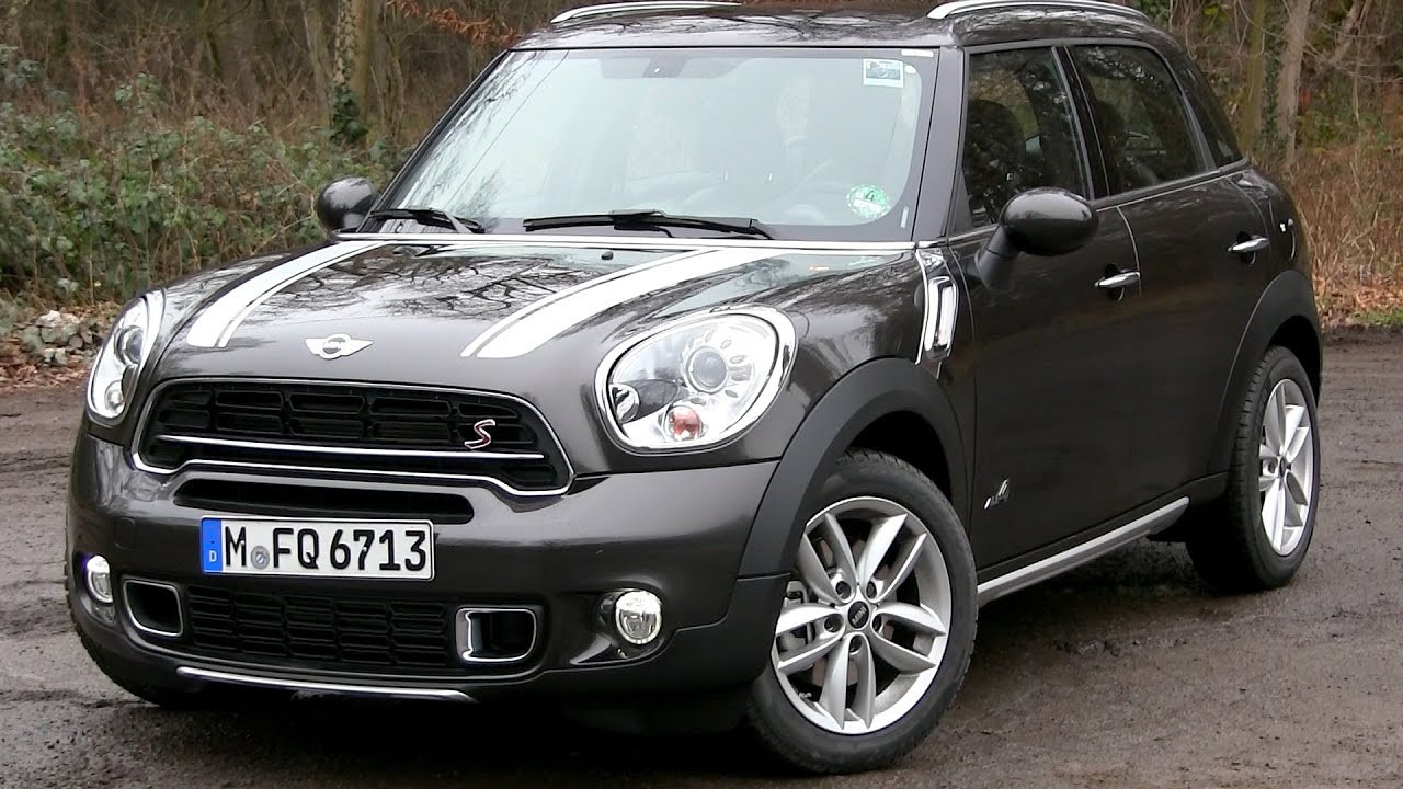 2016 mini countryman cooper s all4 190 hp test drive youtube. Black Bedroom Furniture Sets. Home Design Ideas