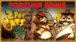 2 Fat Cats Slot ** £20 Fortune Spins **