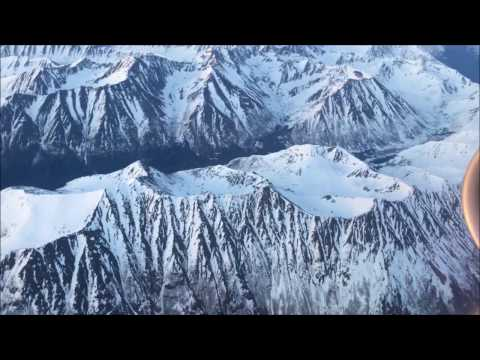 Beautiful Landing In Anchorage, AK - Seattle to Anchorage on Alaska 737-900