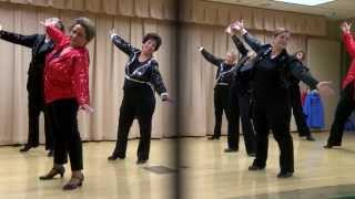 Tap-ercise Lite at the Concord Senior Center in Concord, California