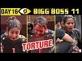 Hina Khan, Vikas Gupta Victim Of TORTURE | Bigg Boss 11 Day 16 – Episode 16 | Full Episode Update