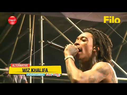Wiz Khalifa @ Lollapalooza Argentina 2018 | Part 2/2