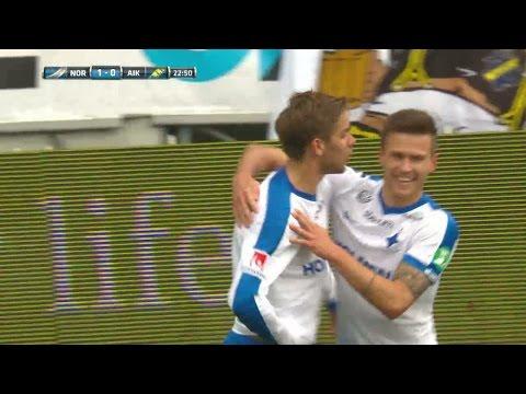 Höjdpunkter: Norrköping imponerade mot AIK - vann med 4-1 - TV4 Sport
