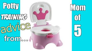 Potty Training: What I've learned after doing it 5 times!
