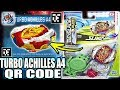 TURBO ACHILLES A4 QR CODE + ALL ACHILLES BEYBLADE BURST TURBO APP QR CODES