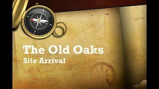 Somerset | The Old Oaks Glastonbury Site Arrival