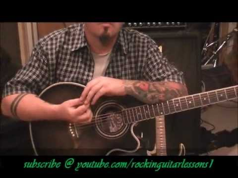 How to play Mercy by Duffy on guitar(organ part) by Mike Gross - YouTube