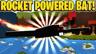 Rocket Powered Bat In Build A Boat For Treasure In Roblox