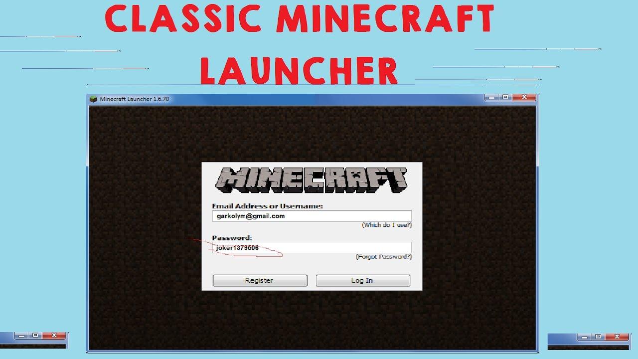 [Download] Wie Man Den Alten Minecraft Launcher Bekommt
