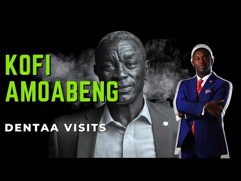 KOFI AMOABENG    I STARTED FROM A SINGLE TABLE IN A ROOM...
