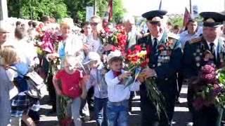 Хмельницький: День Перемоги - квіти ветеранам