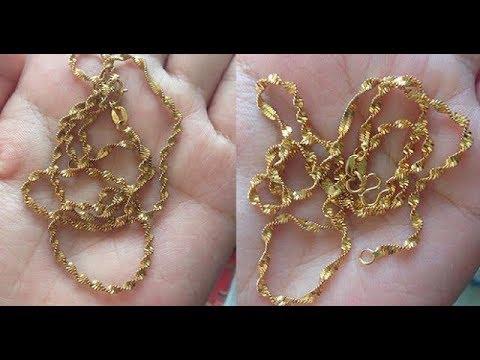 SIMAKLAH!! Inilah Cara Mengembalikan Kilau Perhiasan Emas Yang Memudar