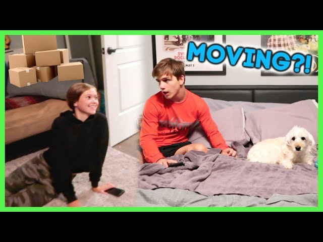 SOMEONE IS MOVING OUT... WHO IS MOVING IN?