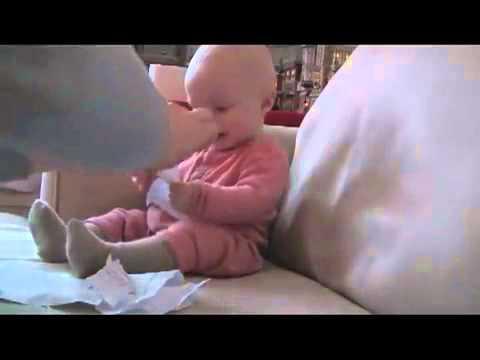 طفل يضحك من قلـــــــــبه ههههه مضحك Youtube Youtube