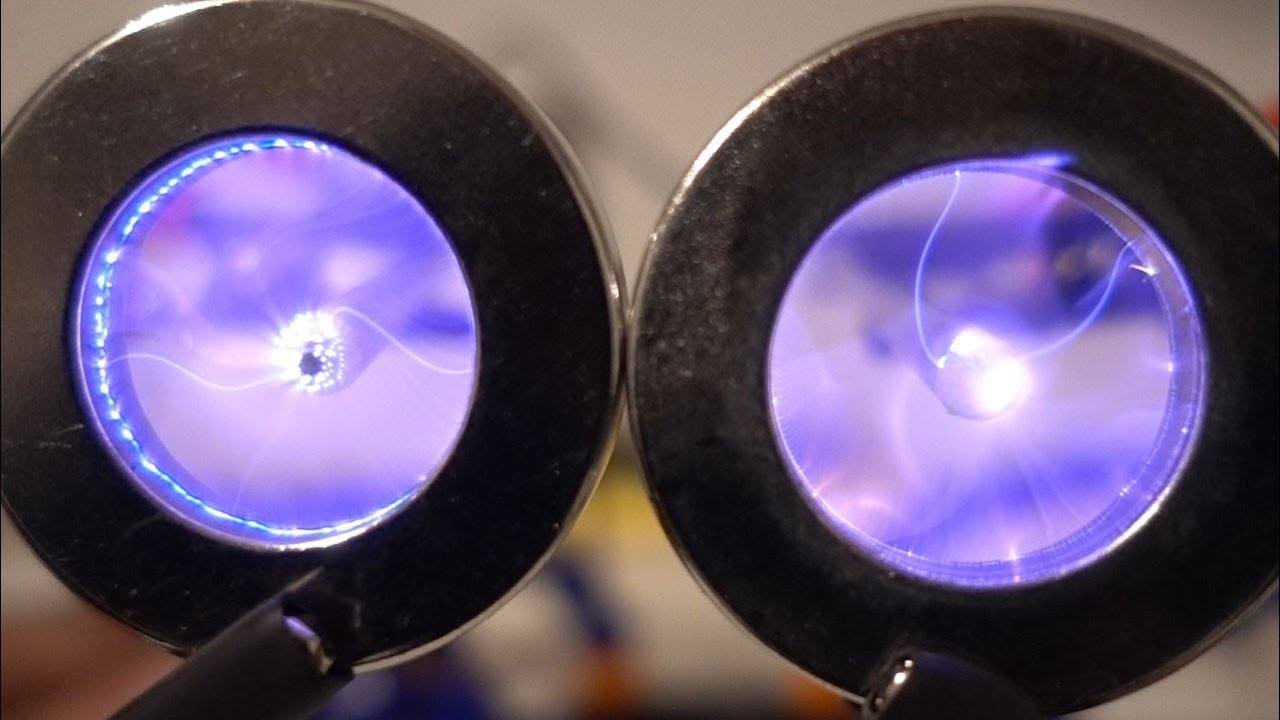 Plasma Vortex in a Magnetic Field | Magnetic Games