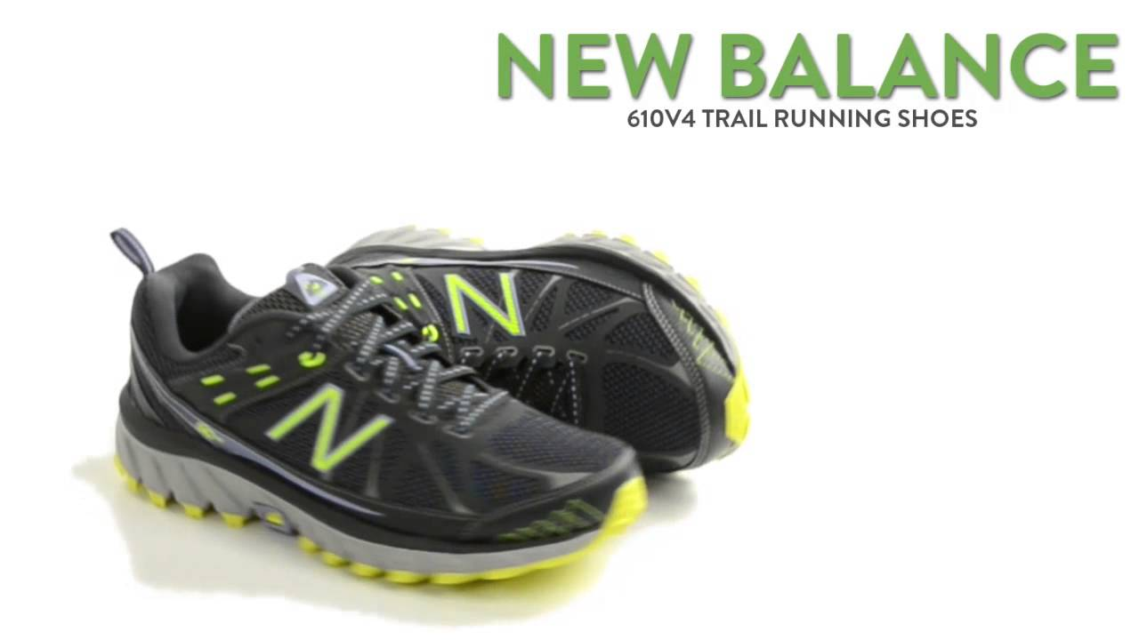 19fd298c69e80 New Balance 610v4 Trail Running Shoes (For Women) - YouTube
