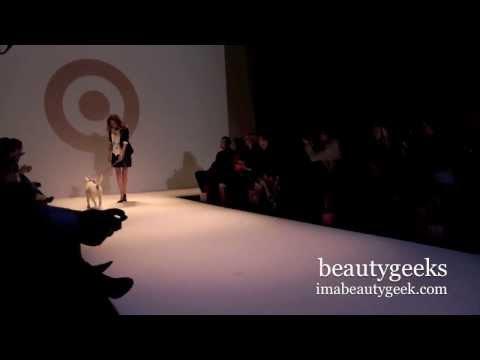 Supermodel Erin Wasson Walks for Target Canada