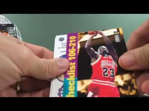 1995 UD Collector's Choice Basketball Box Break Part 2