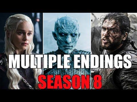 Game of Thrones Season 8 Filming MULTIPLE ENDINGS!