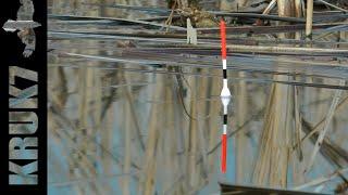 Ловля КАРАСЯ в Камыше ранней Весной на Поплавок БОЛЬНОЙ на РЫБАЛКЕ Рыбалка на краснопера карась