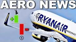 MEHR Passagiere - WENIGER Gewinn! RYANAIR! AeroNews