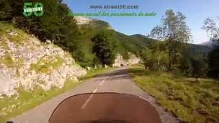 Roadbook moto  Ariège : L' Étang de Lers
