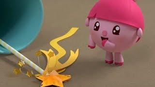 Малышарики - Волшебная палочка - серия 91 - обучающие мультфильмы для малышей 0-4 - про машинки