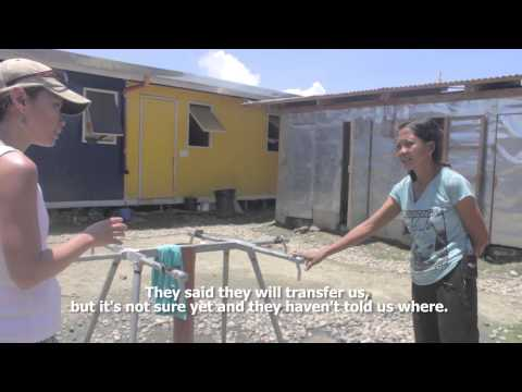 Living conditions in Tacloban 6 months after Typhoon Haiyan