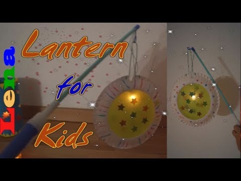 Pappteller Laterne Basteln How To Make A Lantern With Paper Plate